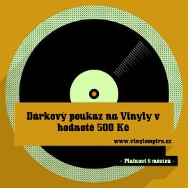 Dárkový Poukaz Na Vinyly - 500 Kč