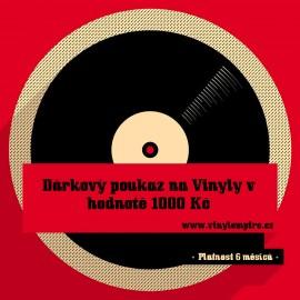 Dárkový Poukaz Na Vinyly - 1000 Kč