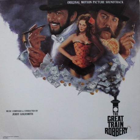 Jerry Goldsmith ‎– The Great Train Robbery