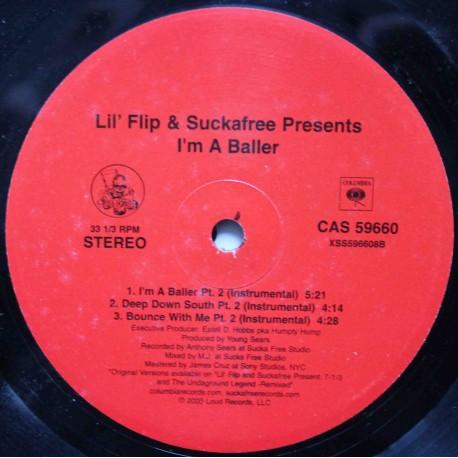 """Lil' Flip – I'm A Baller (12"""" / Vinyl)"""