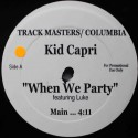 "Kid Capri – When We Party (12"" / Vinyl)"