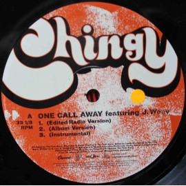 """Chingy – One Call Away (12"""" / Vinyl)"""