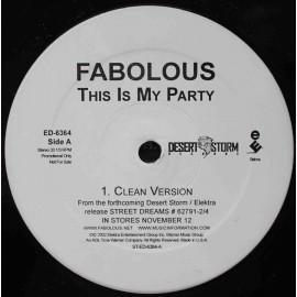 """Fabolous – This Is My Party (12"""" / Vinyl)"""