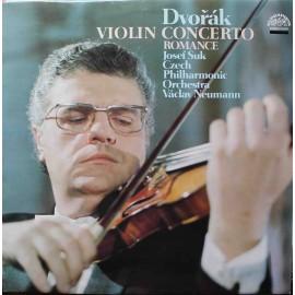 Antonín Dvořák - Koncert A Moll / Romance - Pro Housle A Orchestr (LP/ Vinyl)
