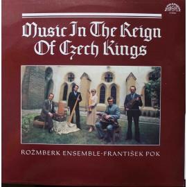 Rožmberk Ensemble, František Pok – Hudba Za Vlády Českých Králů (LP/ Vinyl)