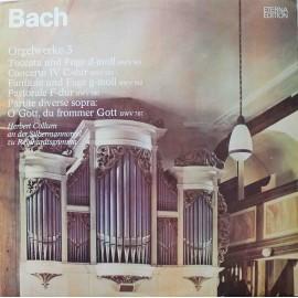 Johann Sebastian Bach – Bachs Orgelwerke Auf Silbermannorgeln 3  (LP / Vinyl)