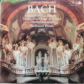 Johann Sebastian Bach – Československé Historické Organy (LP/ Vinyl)