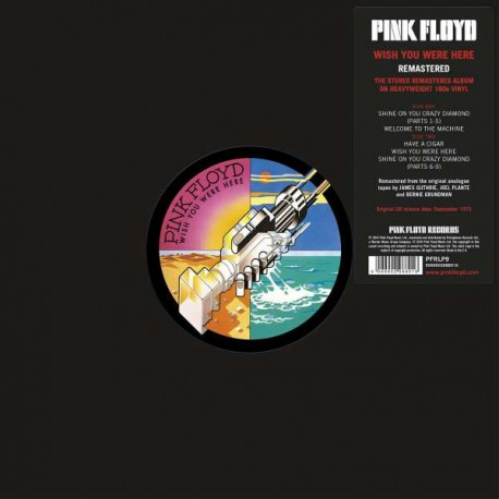Pink Floyd ‎– Wish You Were Here  (LP / Vinyl)