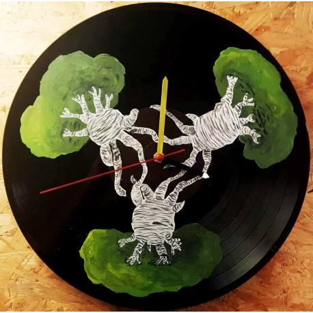 Vinylové Hodiny - Baobab