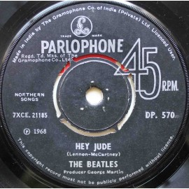 "The Beatles ‎– Hey Jude (7"" / Vinyl)"