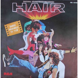 "Cheryl Barnes, Beverly D'Angelo ‎– Hair (7"" / Vinyl)"
