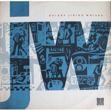 Balady Jiřího Wolkra (LP / Vinyl)