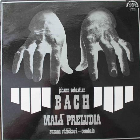 Johann Sebastian Bach, Zuzana Růžičková – Malá Preludia (LP/ Vinyl)