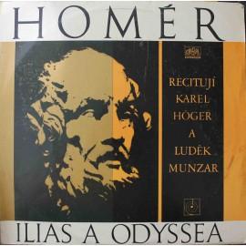 Homér- Ilias A Odyssea (LP / Vinyl)