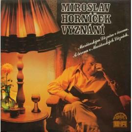 Miroslav Horníček – Vyznání Mariánským lázním (LP / Vinyl)