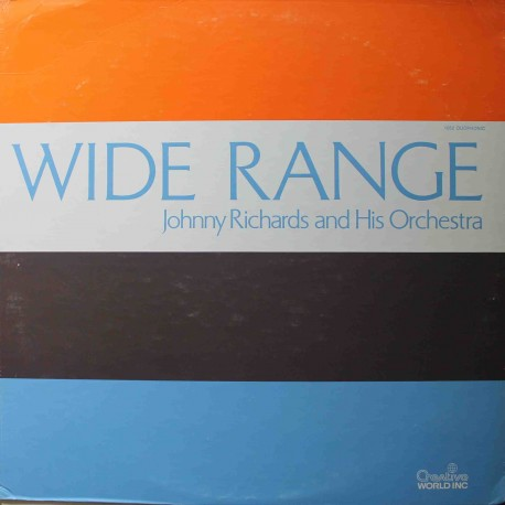 Johnny Richards And His Orchestra – Wide Range (LP / Vinyl)