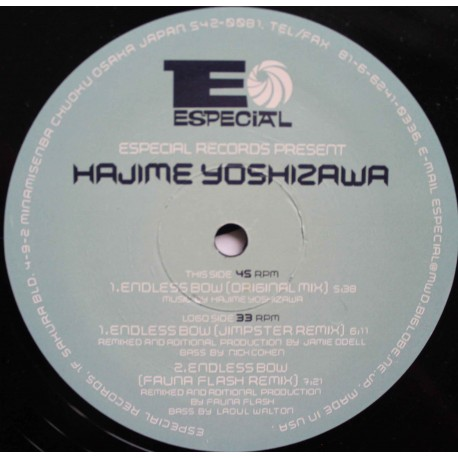 Hajime Yoshizawa – Endless  Bow