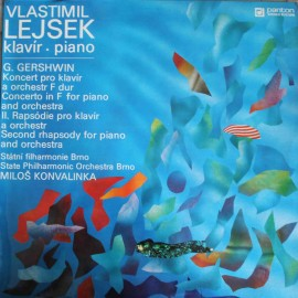 Vlastimil Lejsek, G. Gershwin ‎– Concerto In F For Piano And Orchestra (LP / Vinyl)