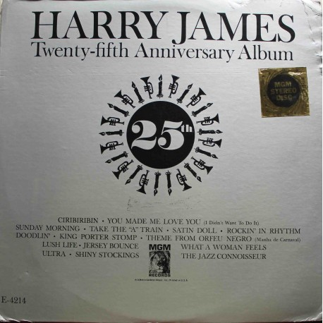 Harry James ‎– Twenty-Fifth Anniversary Album (LP / Vinyl)