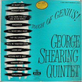 The George Shearing Quintet ‎– Touch Of Genius! (LP / Vinyl)