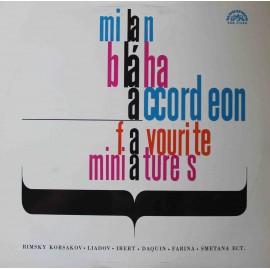 Milan Bláha – Accordeon Favorite Minatures (LP / Vinyl)