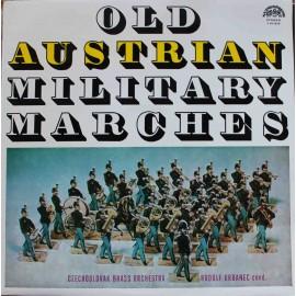 Czechoslovak Brass Orchestra, Rudolf Urbanec – Old Austrian Military Marches (LP / Vinyl)