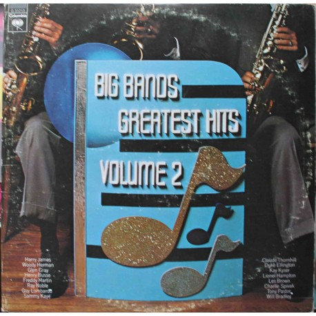 VA ‎–  Big Bands Greatest Hits Volume 2 (2LP / Vinyl)