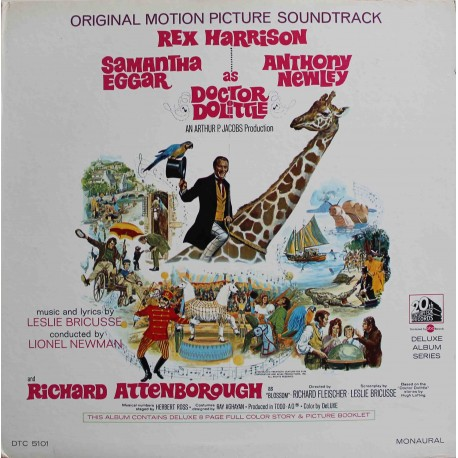 Leslie Bricusse – Doctor Dolittle Original Motion Picture Soundtrack (LP / Vinyl)