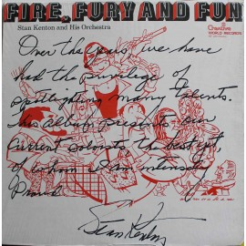 Stan Kenton And His Orchestra ‎– Fire, Fury And Fun (LP / Vinyl)