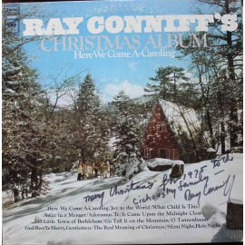 Ray Conniff And The Singers ‎– Christmas Album - Here We Come A-Caroling /S PODPISEM/ (LP / Vinyl)