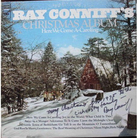Ray Conniff And The Singers – Christmas Album - Here We Come A-Caroling /S PODPISEM/ (LP / Vinyl)