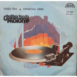"Dalibor Janda, Prototyp – Video Řas / Krabička Sirek (7"" / Vinyl)"