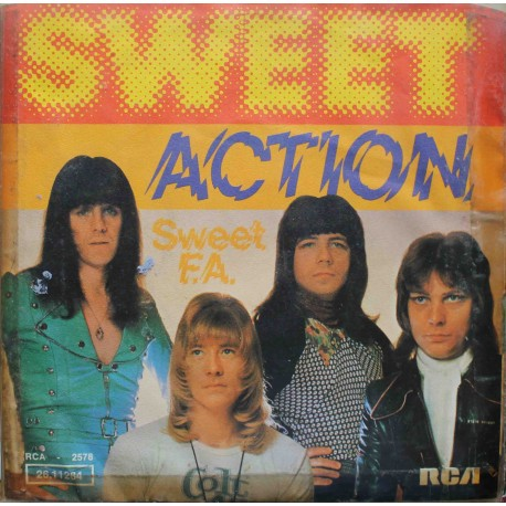 "Sweet – Action (7"" / Vinyl)"