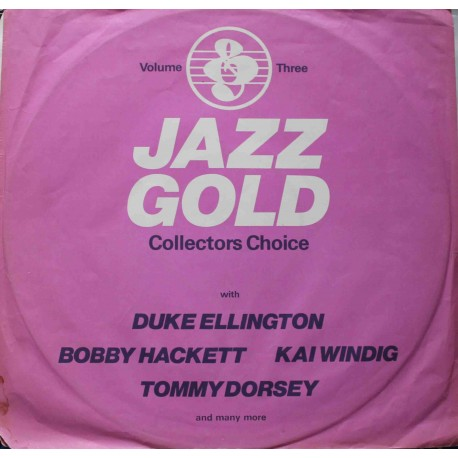 Jazz Gold ‎– Record Three - Collectors Choice (LP / Vinyl)