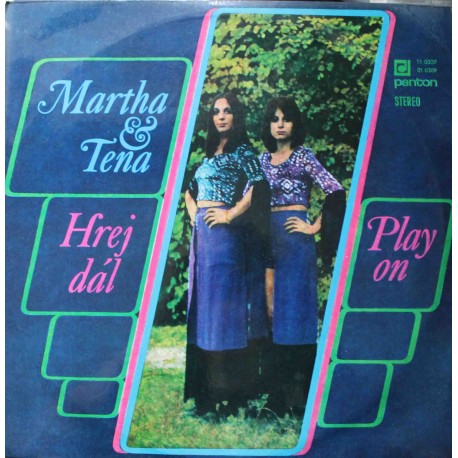 Martha & Tena – Hrej Dál (Play On)  (LP / Vinyl)
