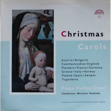 Prague Madrigal Singers – Christmas Carols (LP / Vinyl)