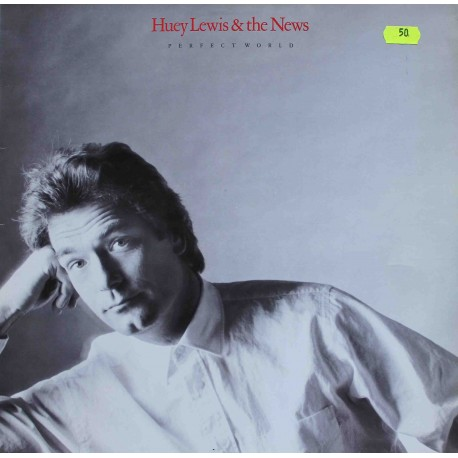 "Huey Lewis & The News ‎– Perfect World (12"" / Vinyl)"