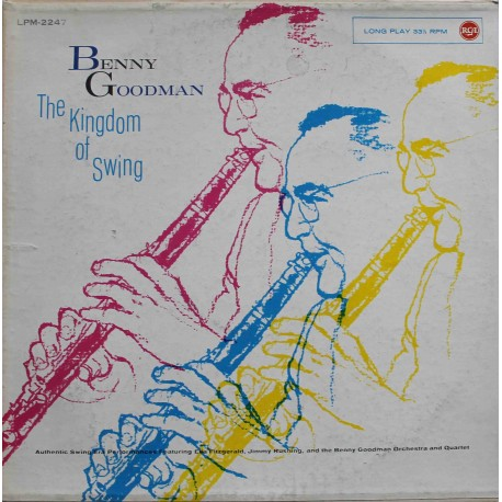 Benny Goodman ‎– The Kingdom Of Swing (LP / Vinyl)
