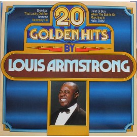 Louis Armstrong – 20 Golden Hits By Louis Armstrong  (LP / Vinyl)