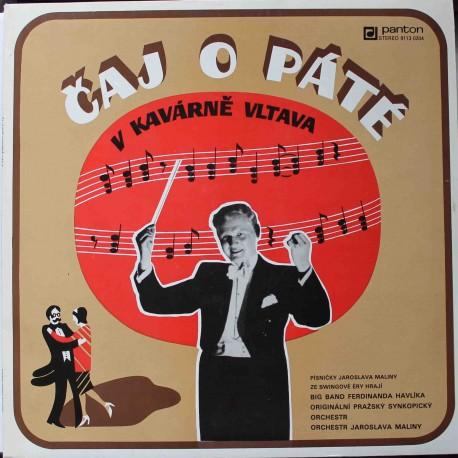 Originální Pražský Synkopický Orchestr, Ferdinand Havlík Orchestra – Čaj O Páté V Kavárně Vltava (LP / Vinyl)