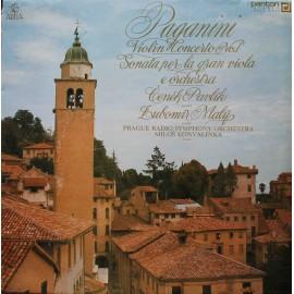 Niccolò Paganini – Violin Concerto No.1 / Sonata Per La Gran Viola E Orchestra (LP/ Vinyl)