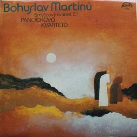 Bohuslav Martinů, Panocha Quartet – String Quartet No. 1 (LP/ Vinyl)
