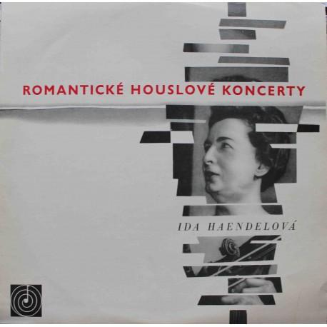 Ida Haendelová – Romantické Houslové Koncerty (LP/ Vinyl)