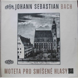 Johann Sebastian Bach - Moteta Pro Smíšené Hlasy (2LP/ Vinyl)
