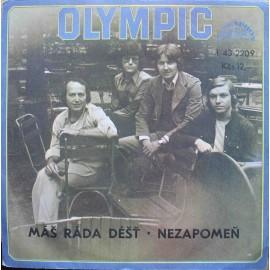 """Olympic –  Máš Ráda Déšť / Nezapomeň (7"""" / Vinyl)"""