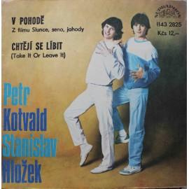 """Stanislav Hložek, Petr Kotvald –  V Pohodě / Chtějí Se Líbit (Take It Or Leave It) (7"""" / Vinyl)"""
