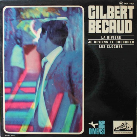 "Gilbert Bécaud – La Rivière (7"" / Vinyl)"