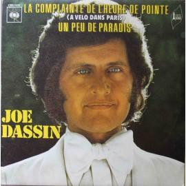 """Joe Dassin – La Complainte De L'heure De Pointe (A Vélo Dans Paris) (7"""" / Vinyl)"""