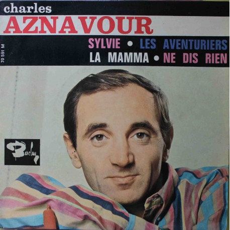 "Charles Aznavour – Sylvie (7"" / Vinyl)"