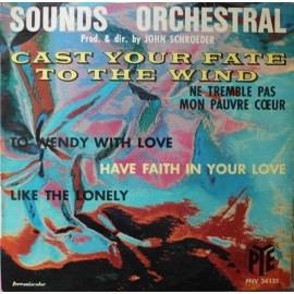 "Sounds Orchestral ‎– Cast Your Fate To The Wind (7"" / Vinyl)"